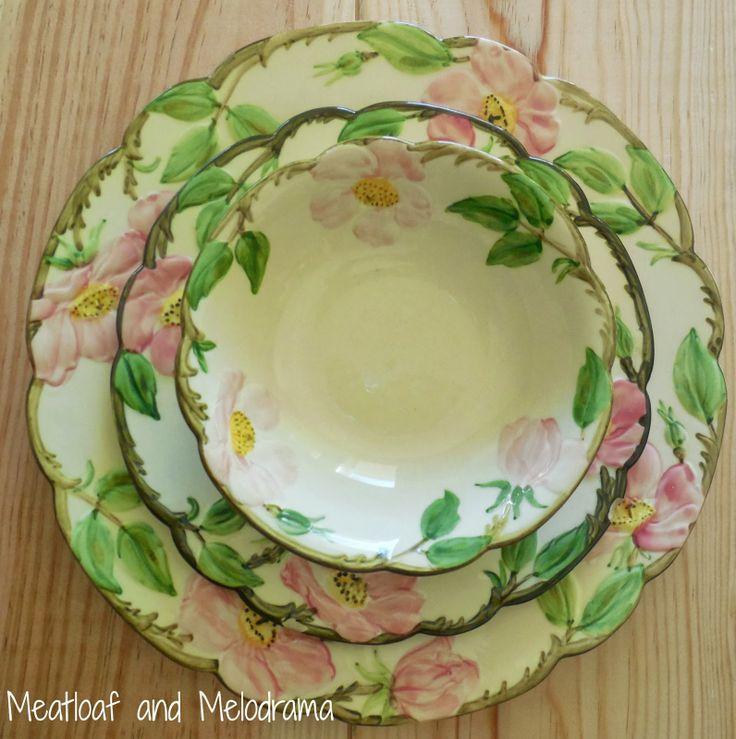 vintage Franciscan ware & 242 best Desert Rose - U.S. images on Pinterest | Desert rose ...