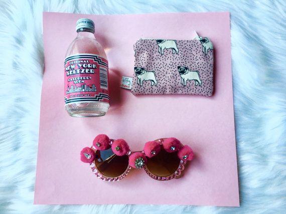 Boho Embellished Sunglasses by coolingglasscompany on Etsy