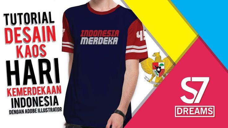 Ini adalah desain kaos ketika hari kemerdekaan indonesia yang ke 72