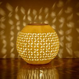 The Yellow Door Round Oil Burner #DiwaliDecor #FabFurnish