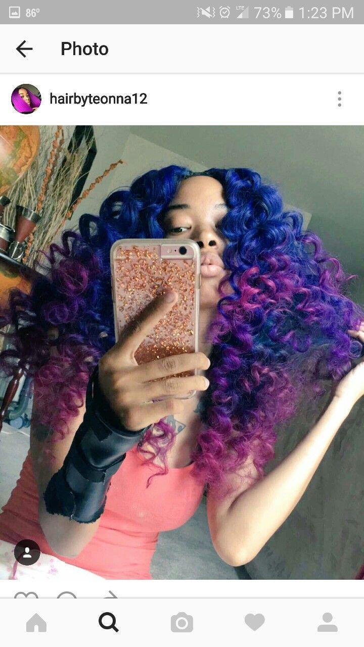 best hair color images on pinterest colourful hair cabello de