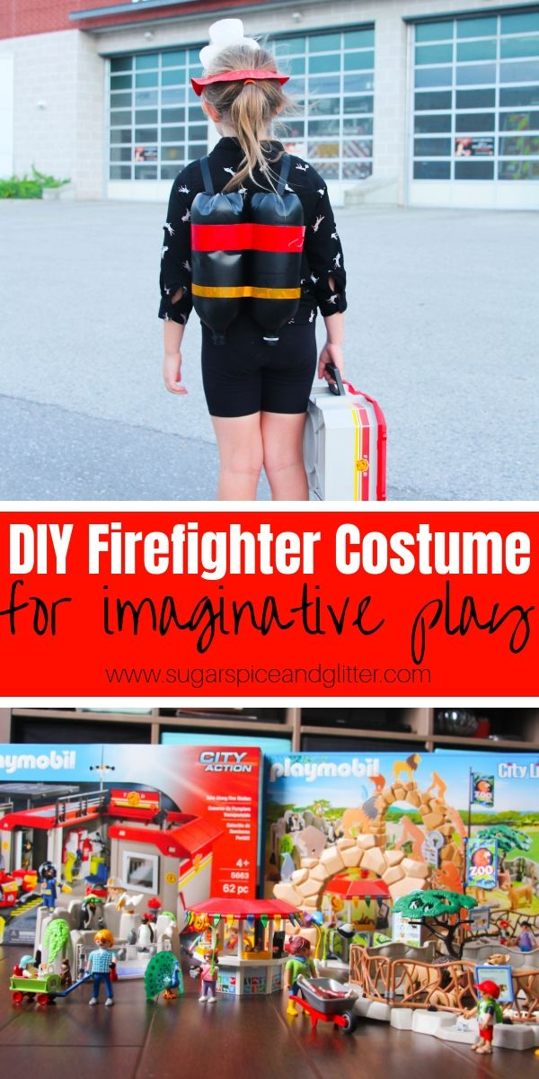 Playmobil Halloween Quick.Diy Firefighter Costume For Kids Costumes Cute Kids