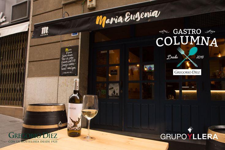 Botella de Cantosán en María Eugenia, Calle Dulzainero Ángel Velasco