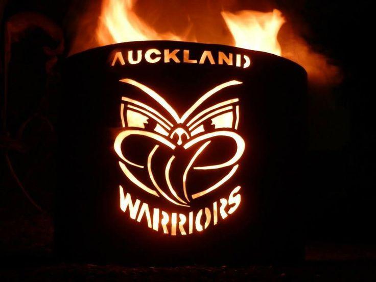 Old school Auckland Warriors art
