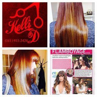 #flamboyage #red #Copper #hairbykellid #portlandoregon