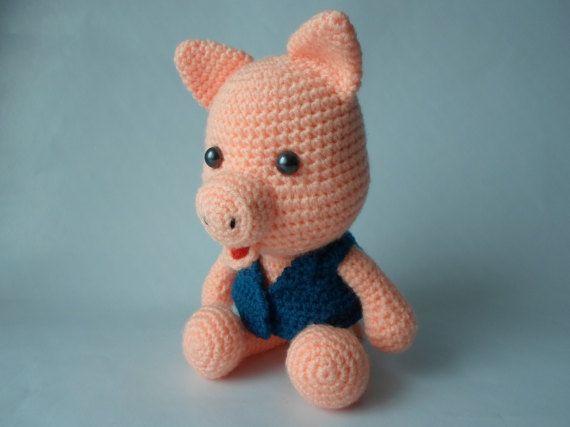 Pig Amigurumi Crochet Toy Animal