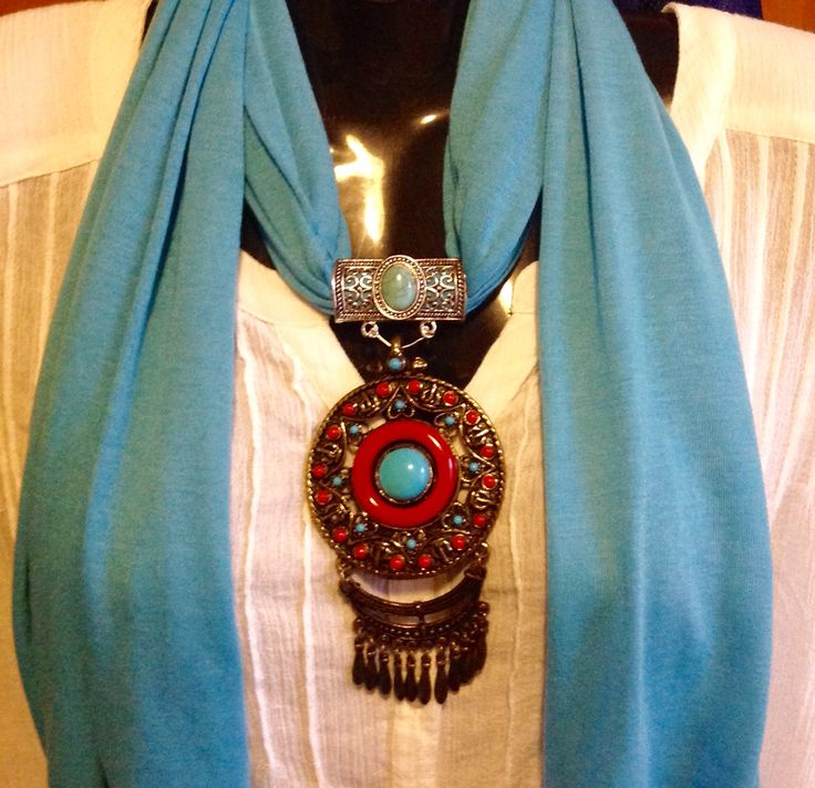 Handmade Pendent Scarf by ELLY Baba's Treasures