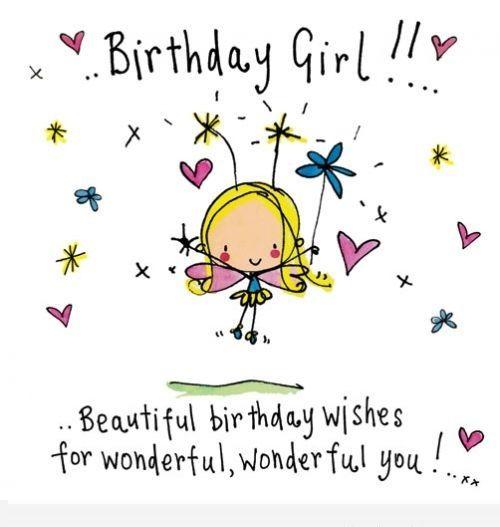 Best 25+ Birthday Wishes For Girls Ideas On Pinterest
