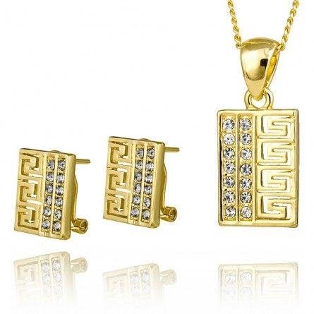 Komplet przepięknej biżuterii, który idealnie sprawdzi się jako #prezent: http://sklepmarcodiamanti.pl/produkt/komplet-zloty-model-mdltd-gs0002/ #MarcoDiamanti #bizuteria #prezent #dodatki #styl #elegancja #klasa