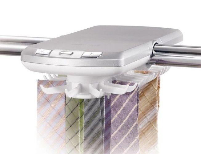 Hugogate elektronischer Krawattenhalter - Krawatten in Reih und Glied!