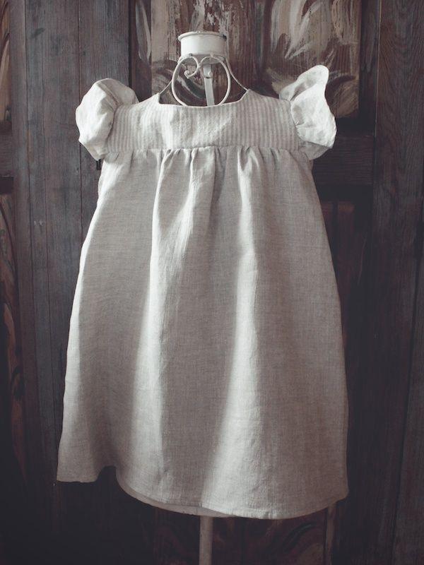 Linneklänning baby - 100 Years 350:-