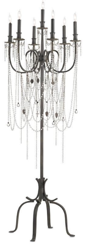 25 Best Ideas About Chandelier Floor Lamp On Pinterest