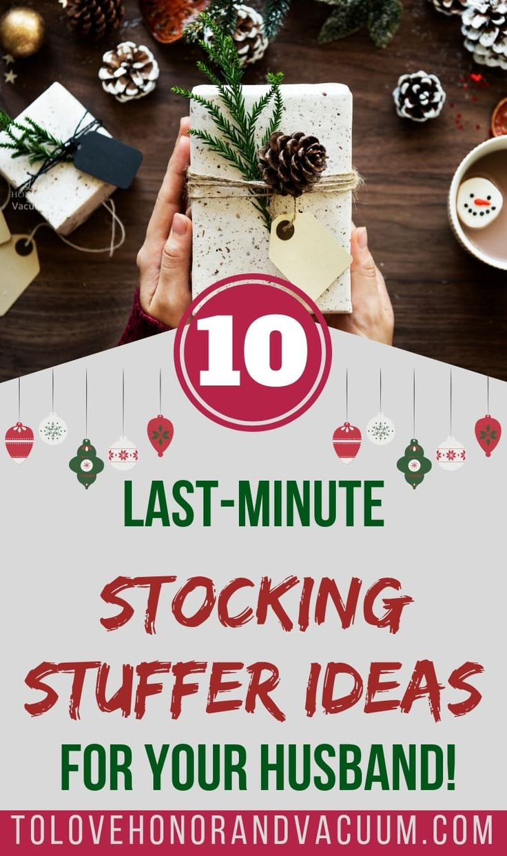 Christmas Gift Ideas For Husband: 10 Last-Minute Stocking Stuffer Ideas For Your Husband