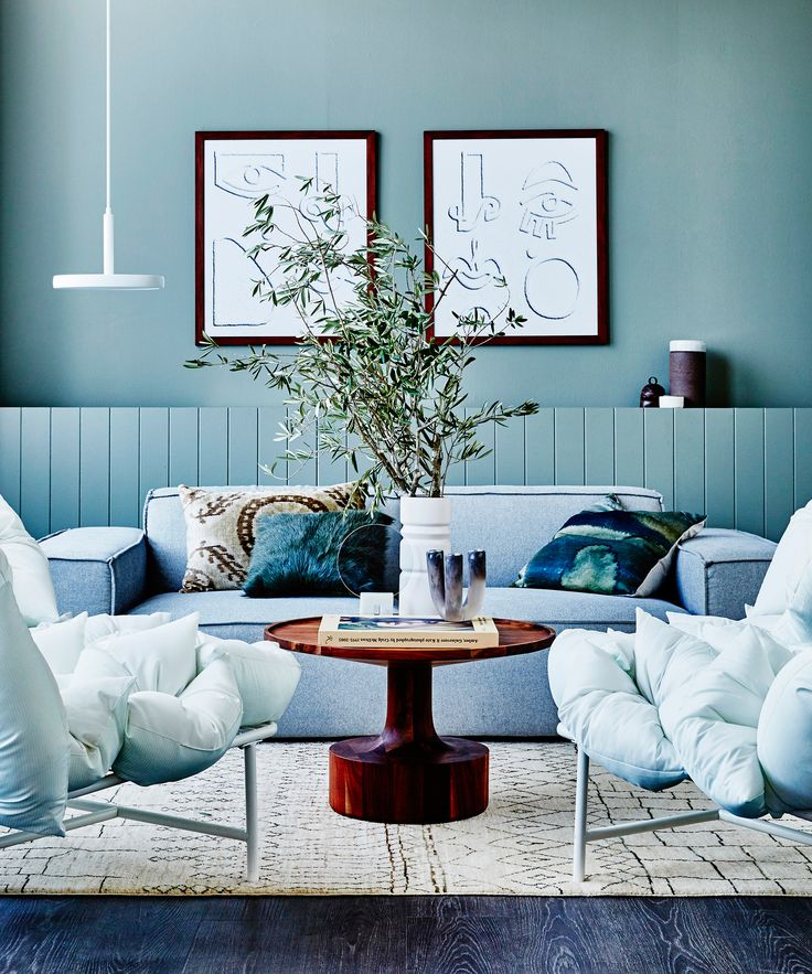 $600 IKEA PS 2017 sofa styled three ways by real living. Photography: Kristina Soljo | Styling: Corina Koch