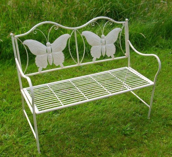 Kleine Gartenbank Aus Metall Mini Butterfly Kunstlerische Und Attraktives Design Gartenbank Metall Kleine Gartenbank Gartenbank