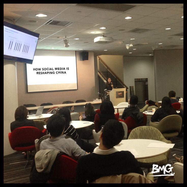 Honoured to be invited to speak at HKTDC workshop on 'How Social Media is Reshaping China.  #socialmedia #china #digitalmarketing #wechat #weibo #hktdc
