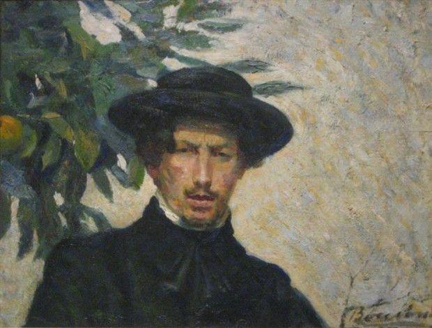 Umberto Boccioni, Self-portrait, 1905