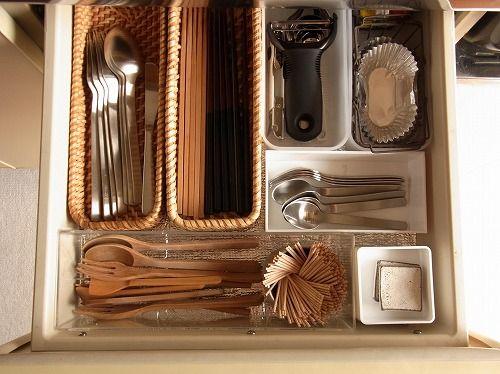 キッチン : 片付けたくなる部屋づくり