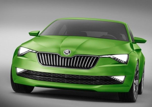 2014 Skoda Vision C Coupe Series Front