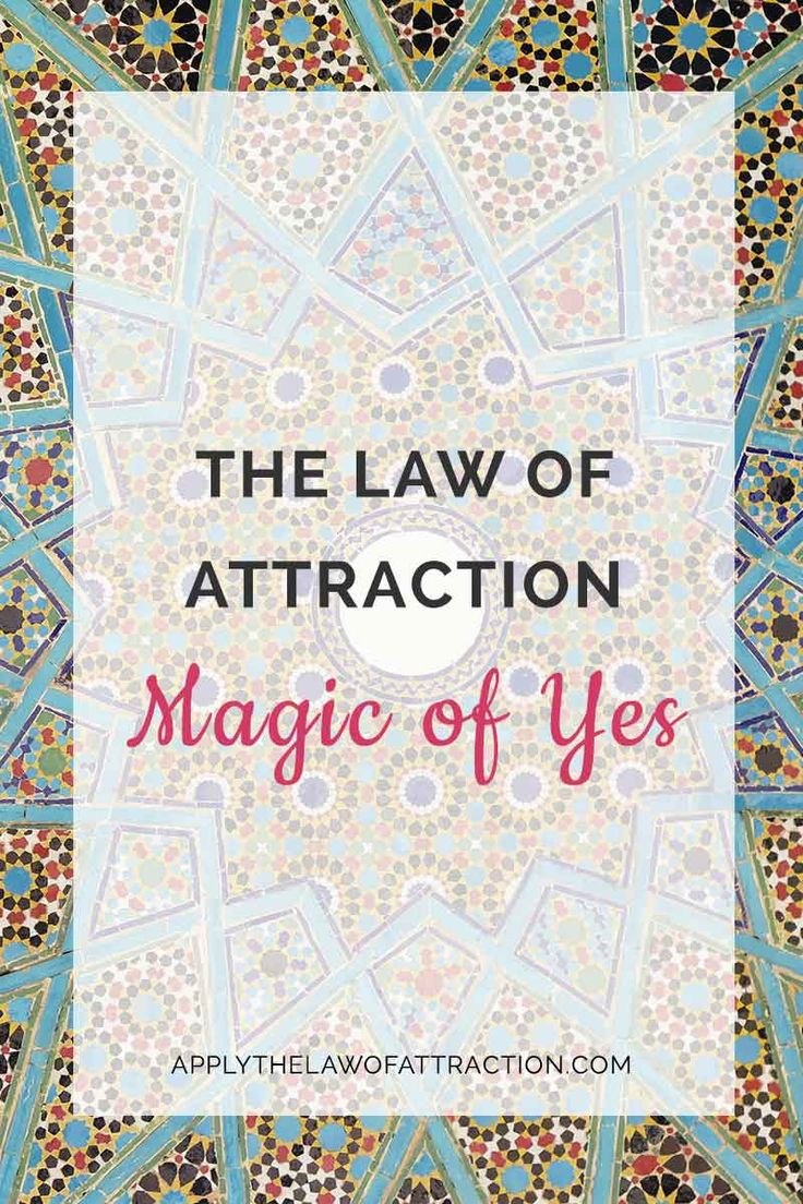 Learn how the law of attraction magic of yes helps produces rapid transformation and results in your life. Click to read more...