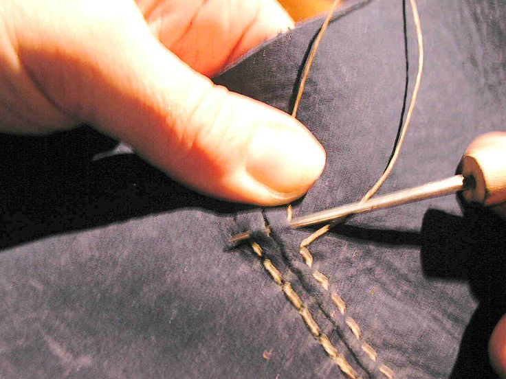 coudre du cuir : Beginners Advice for shoemaking