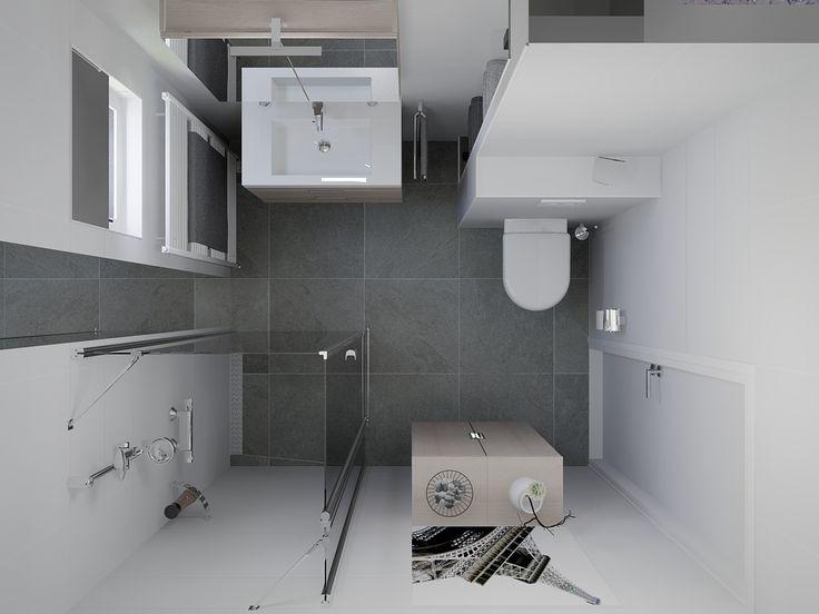 Meer dan 1000 idee n over kleine badkamer ontwerpen op pinterest kleine badkamers kleine - Badkamer modellen ...
