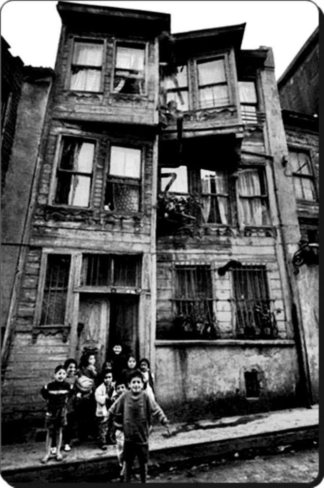 Zeyrek - 1960'lar Fotoğraf : Ara Güler