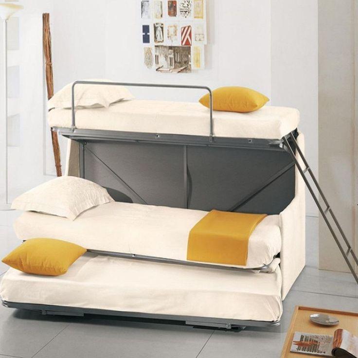 Oltre 25 fantastiche idee su letti salvaspazio su - Divani letto a castello ikea ...