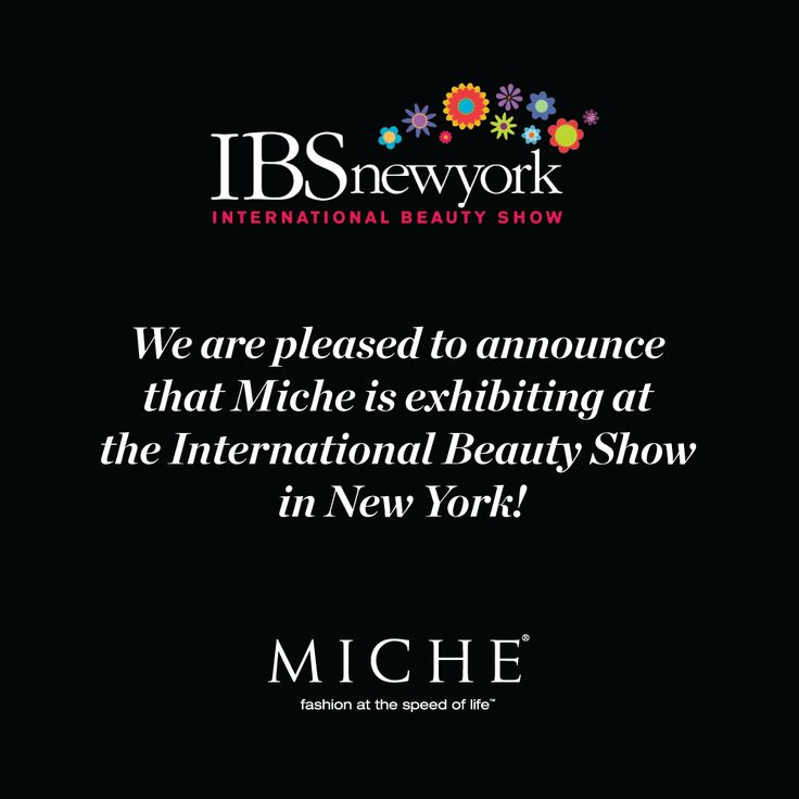 Miche Handbags to Exhibit at the International Beauty Show in New York. Click through for more info. #miche #springfashion #ibsny