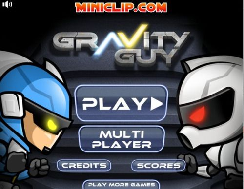 Gravity Guy - Action Games - Physics Games