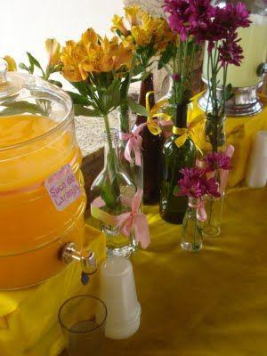 O Mundo de Calíope: Sucos e bebidas coloridas na sua festa!
