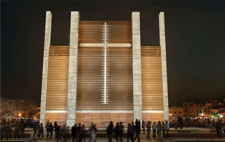 Remixed Chapel Concepts The Notre Dame Haiti Cathedral Modernizes a Classic Design