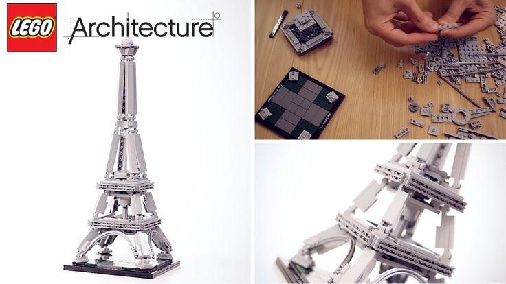 LEGO ARCHITECTURE Eiffel tower #LEGO #architecture