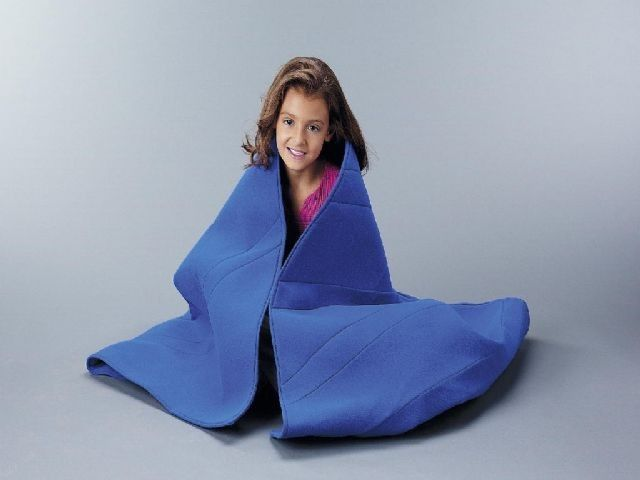 Weighted Sensory Blanket with Velcro Closure Pockets