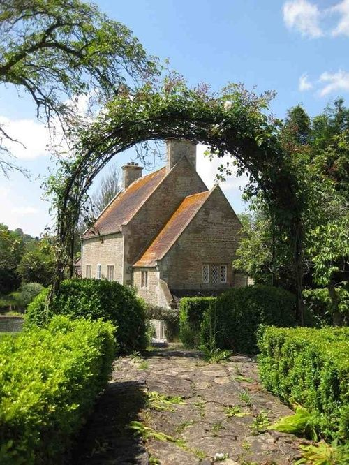 Traditional English country manor