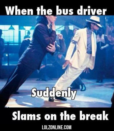 When The Bus Driver Suddenly Slams On The...#funny #lol #lolzonline