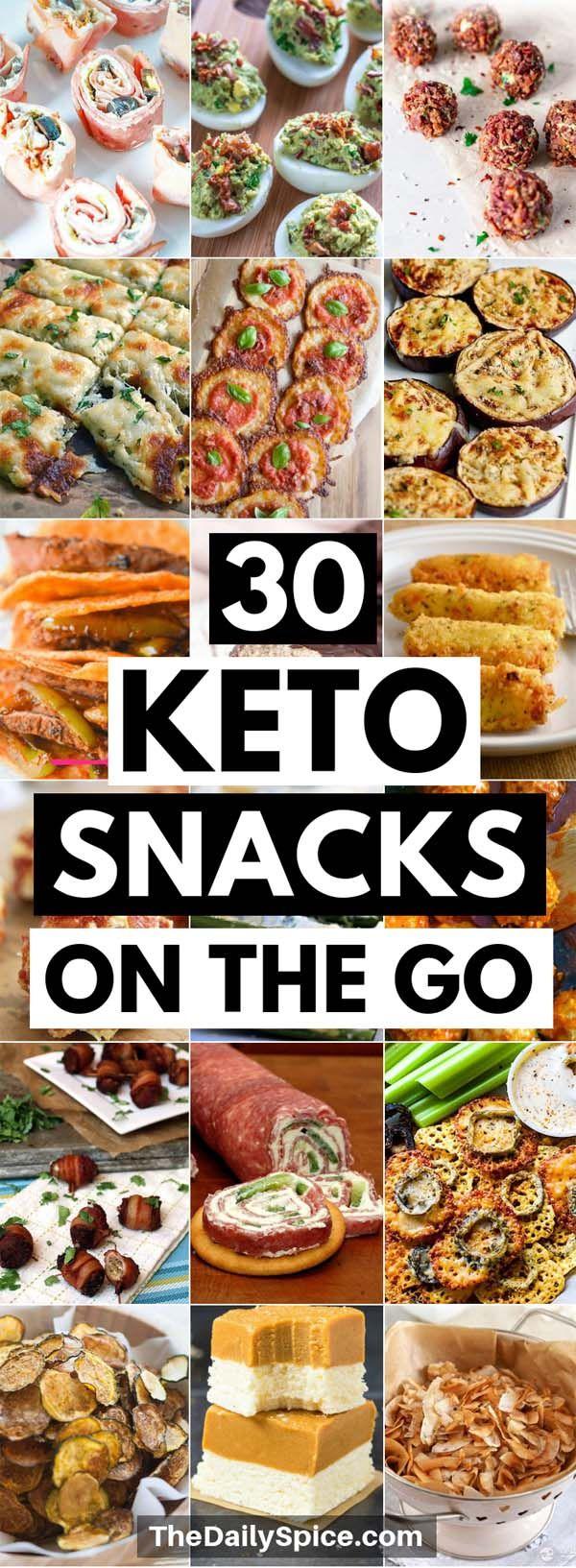 Schnelle und einfache Ketosnacks für unterwegs zur Gewichtsreduktion bei ketogenen D …