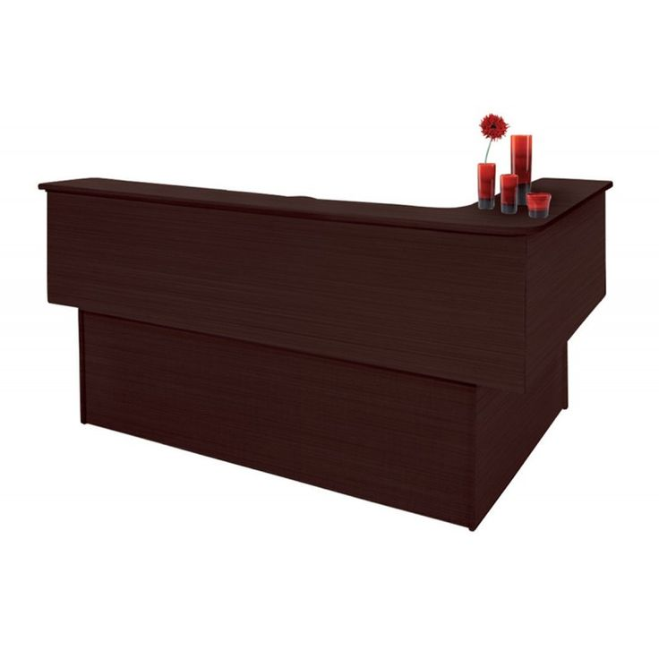 Office reception right corner wenge 175x150x115 ΕΟ11,5R