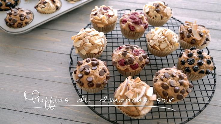 Muffins du dimanche soir