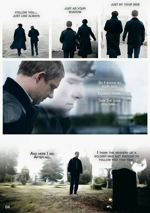 right in the feels. *sniff*  :'( {Sherlock}
