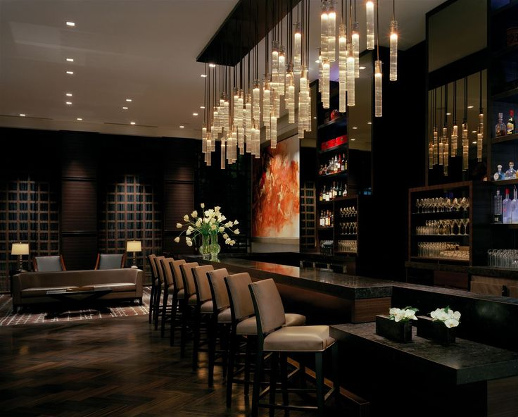 St Regis Hotel San Francisco, United States of America. #bar #lighting #design #crystal #glass #ambiance