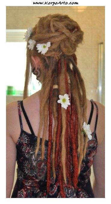 Dreadlock Updos 03