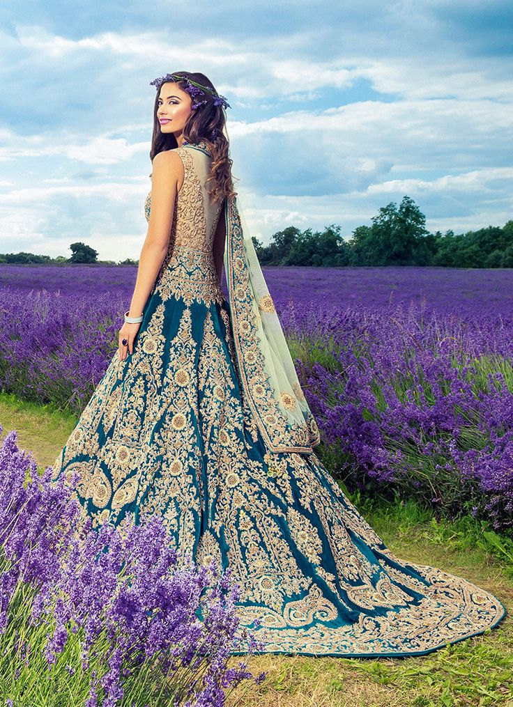 Mongas | Traditional outfits Princess anarkali