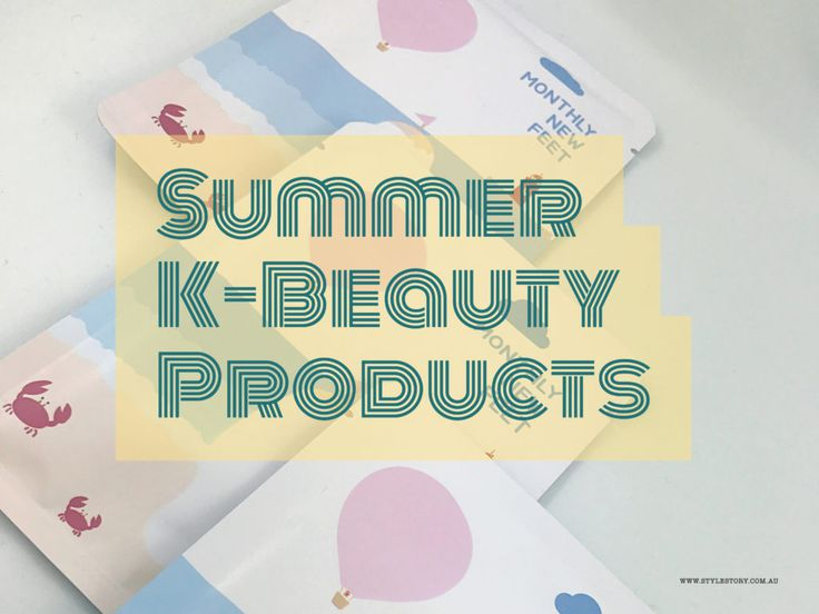 THE BEST K-BEAUTY PRODUCTS FOR SUMMER - STYLE STORY looks at the best Korean Beauty products for the Aussie summer and essential summer skincare steps!