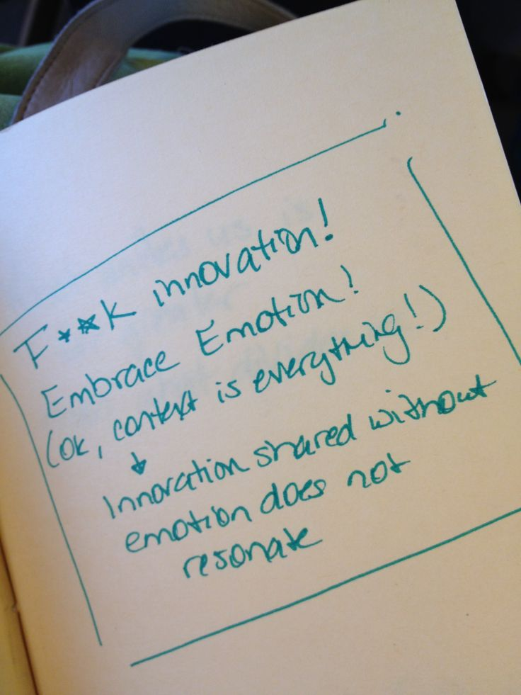 Make innovation relevant, meaningful and then it will matter
