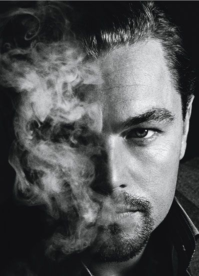 """Leonardo DiCaprio in W Magazine for """"Best Performances"""" in J. Edgar.    Great character in this shot..."""