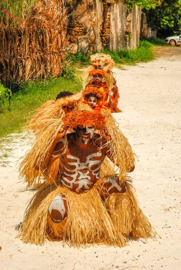 Tribal Dance, Isle of Pines, New Caledonia