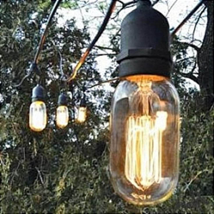 Outdoor String Lights Electric : 16 best Edison light shoot images on Pinterest Home, Light shoot and Lightbulbs