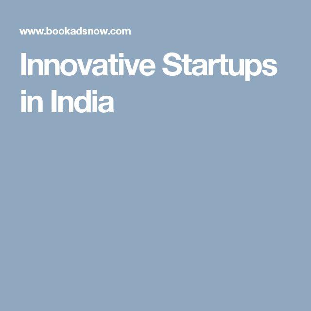 Innovative Startups in India