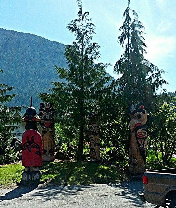 mytripadvice: Alaska Check out Totem park at Cape Fox lodge
